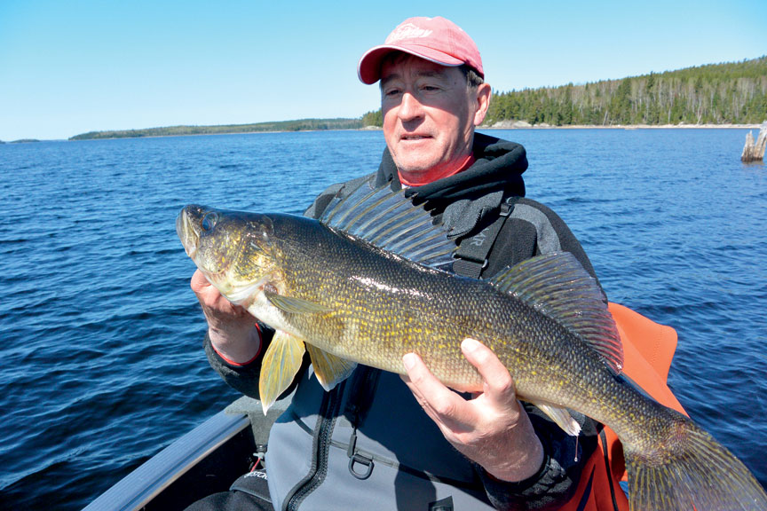Destination lac seul and area an angling mecca for Lac seul fishing